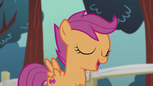 """Scootaloo singing """"now we know what it took all along"""" S5E18"""