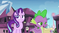 Spike goes back to the checklist S6E1