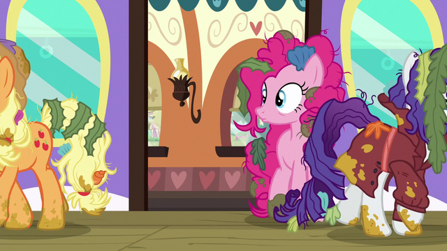File:Applejack and Rarity walking away S6E22.png