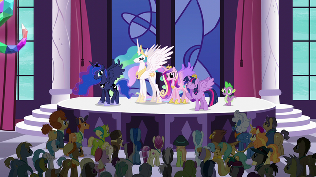 "File:Princess Twilight ""all across this great land of ours"" S5E10.png"