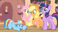 Rainbow 'Won't somepony please think of the cider!' S4E07