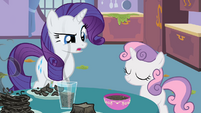 Rarity Toast S2E5