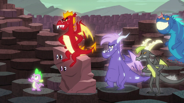 File:Spike points at someone S6E5.png