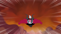 Tirek throws himself towards the mountain S4E26