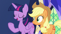 "Twilight ""this is what friendship is all about"" S7E11"