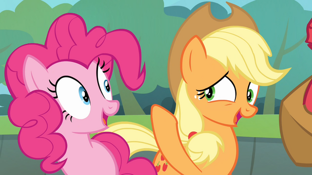 File:Applejack '...we don't blame in this family' S4E09.png
