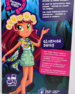 Legend of Everfree Geometric Assortment Gloriosa Daisy back of packaging