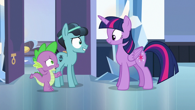 """File:Spike """"I pretty much only write to him"""" S6E16.png"""