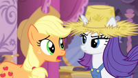 Applejack 'Because you would never dress like that' S4E13