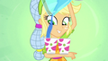 Applejack pours juice in cups balanced on her arm SS9.png