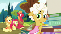 "Goldie Delicious ""in a couple of days"" S7E13"