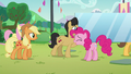 Pinkie calling for everypony's attention S5E24.png