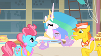 Princess Celestia says gotcha S1E22