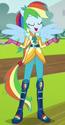 Rainbow Dash Sporty Style ID EG3