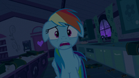 Rainbow Dash in complete shock S6E15