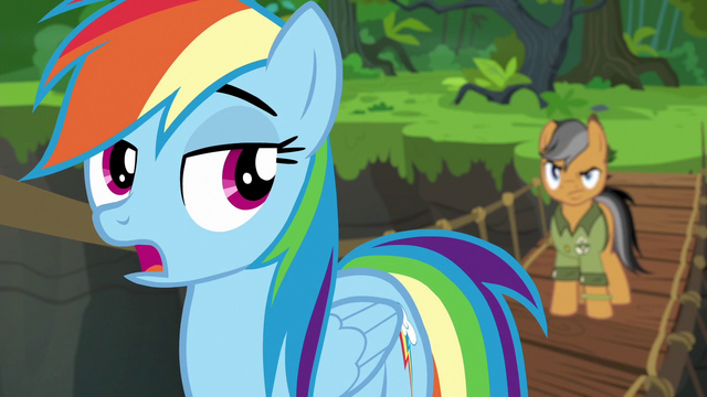 File:Rainbow Dash mocking Quibble Pants S6E13.png