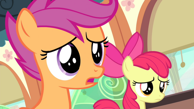 File:Scootaloo correcting herself S4E19.png