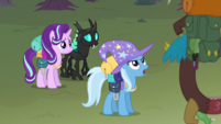 Trixie rudely defining what a plan is to Discord S6E26