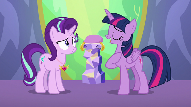 """File:Twilight """"thought long and hard about this"""" S7E1.png"""