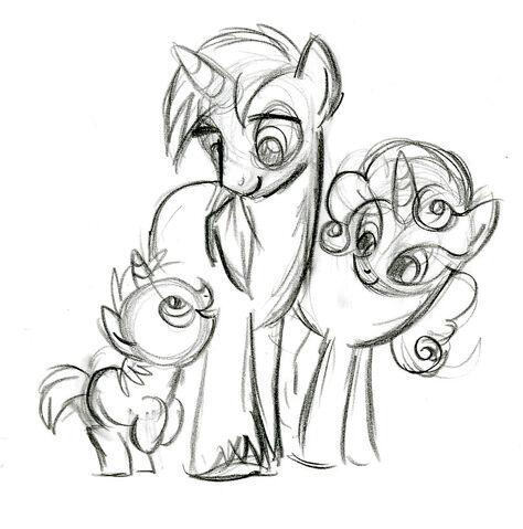 File:Unicorn Family Sketch.jpg