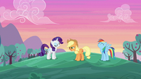 "Applejack ""we were up even earlier!"" S6E14"
