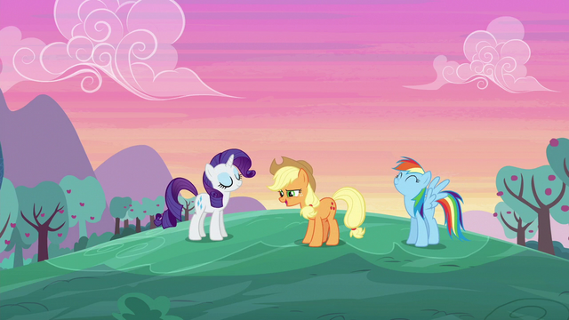 "File:Applejack ""we were up even earlier!"" S6E14.png"