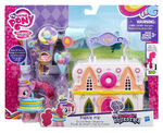 Explore Equestria Pinkie Pie Donut Shop Playset packaging