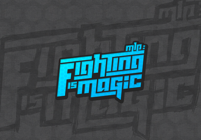 File:FANMADE Fighting is Magic logo.png