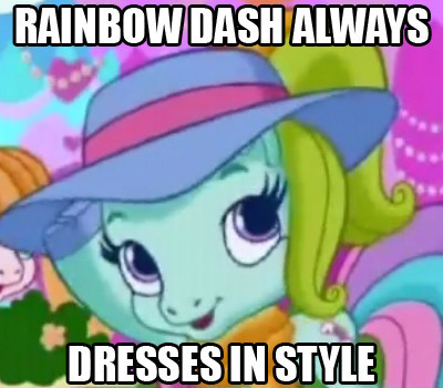 File:FANMADE Rainbow Dash Always Dresses In Style.jpg