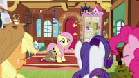 Fluttershy's friends proud of her S7E5