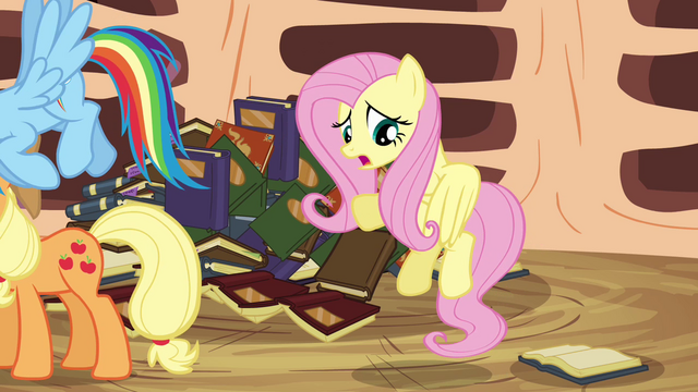 File:Fluttershy 'Yes, but, um, you can't' S3E05.png