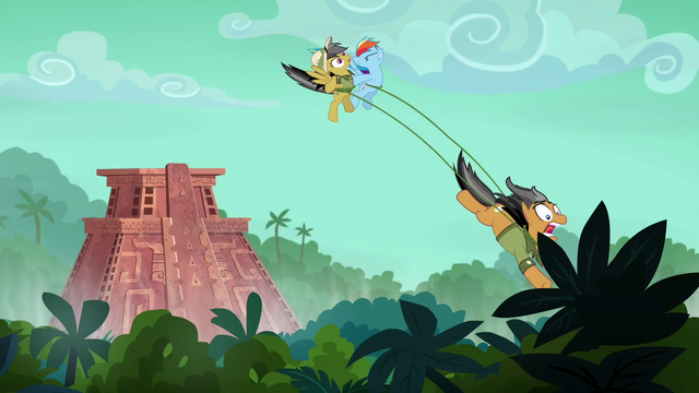 File:Quibble pulls Rainbow and Daring to the ground S6E13.png
