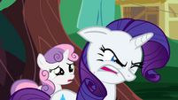 Rarity tries to suppress her anger S2E05