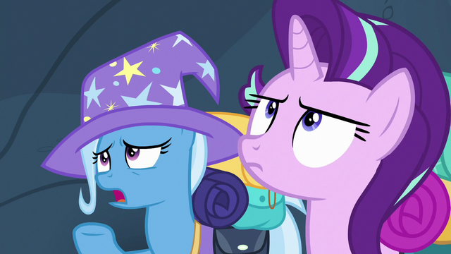 """File:Trixie giving the code word """"klutzy...?"""" S6E26.png"""