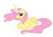 FANMADE Alicorn Fluttershy by pvt-llama