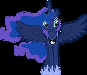 FANMADE Princess Luna smile