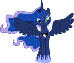 File:FANMADE Princess Luna smile.png