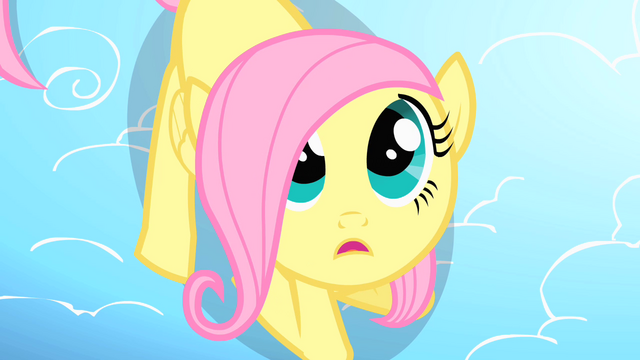 File:Filly Fluttershy looking up S1E23.png