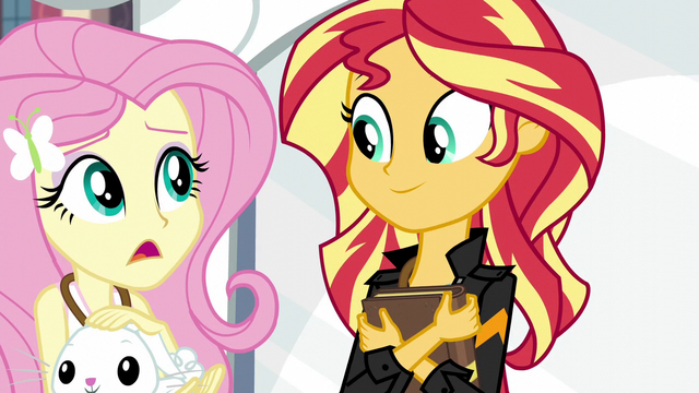 "File:Fluttershy ""still no word from Princess Twilight?"" EG3.png"