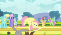 Fluttershy gaining full speed S2E22.png