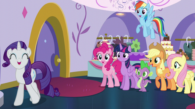 """File:Rarity """"to that very boutique!"""" S5E14.png"""