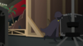 Cloaked figure runs past Mount Vehoovius set EGS2.png