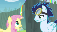 Fluttershy 'Are you okay' S4E10