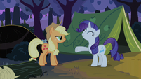 Rarity talks to Applejack S2E05