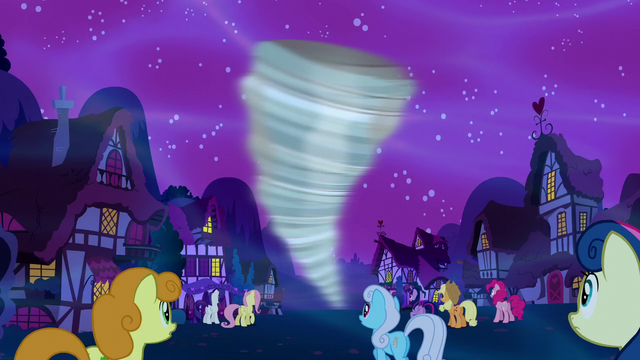 File:Ponies watching the tornado S5E13.png
