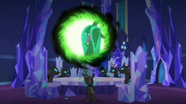 File:Queen Chrysalis laughing maniacally S6E25.png