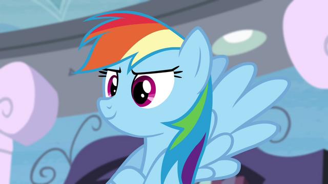 File:Rainbow Dash confident S4E21.png