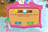 Snowpony Parade Rewards MLP game