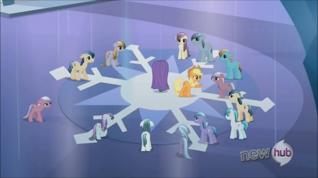 File:Applejack keeping Crystal Ponies at bay S3E2.png