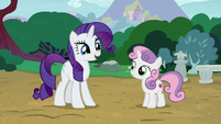 "Rarity ""could we spend it together?"" S7E6"